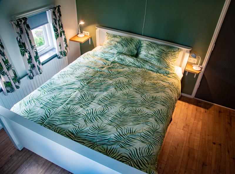 slaapkamer vakantiewoning De Lutte
